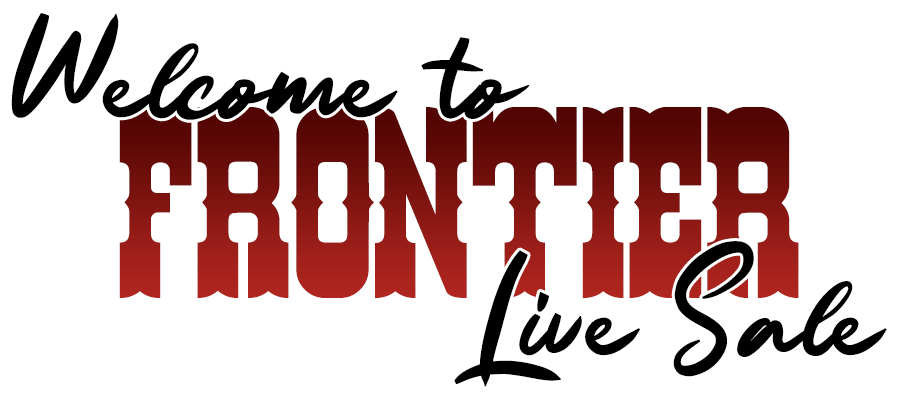 Welcome to Frontier Live Sale
